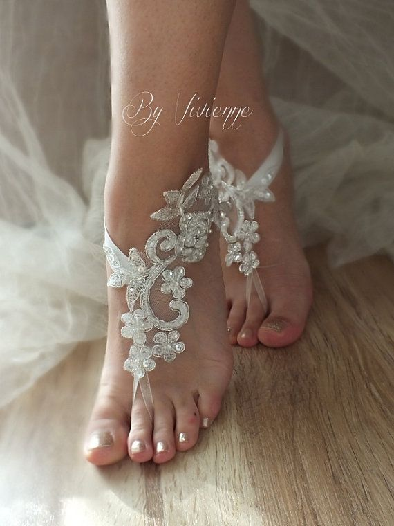 Lace Beach Shoes