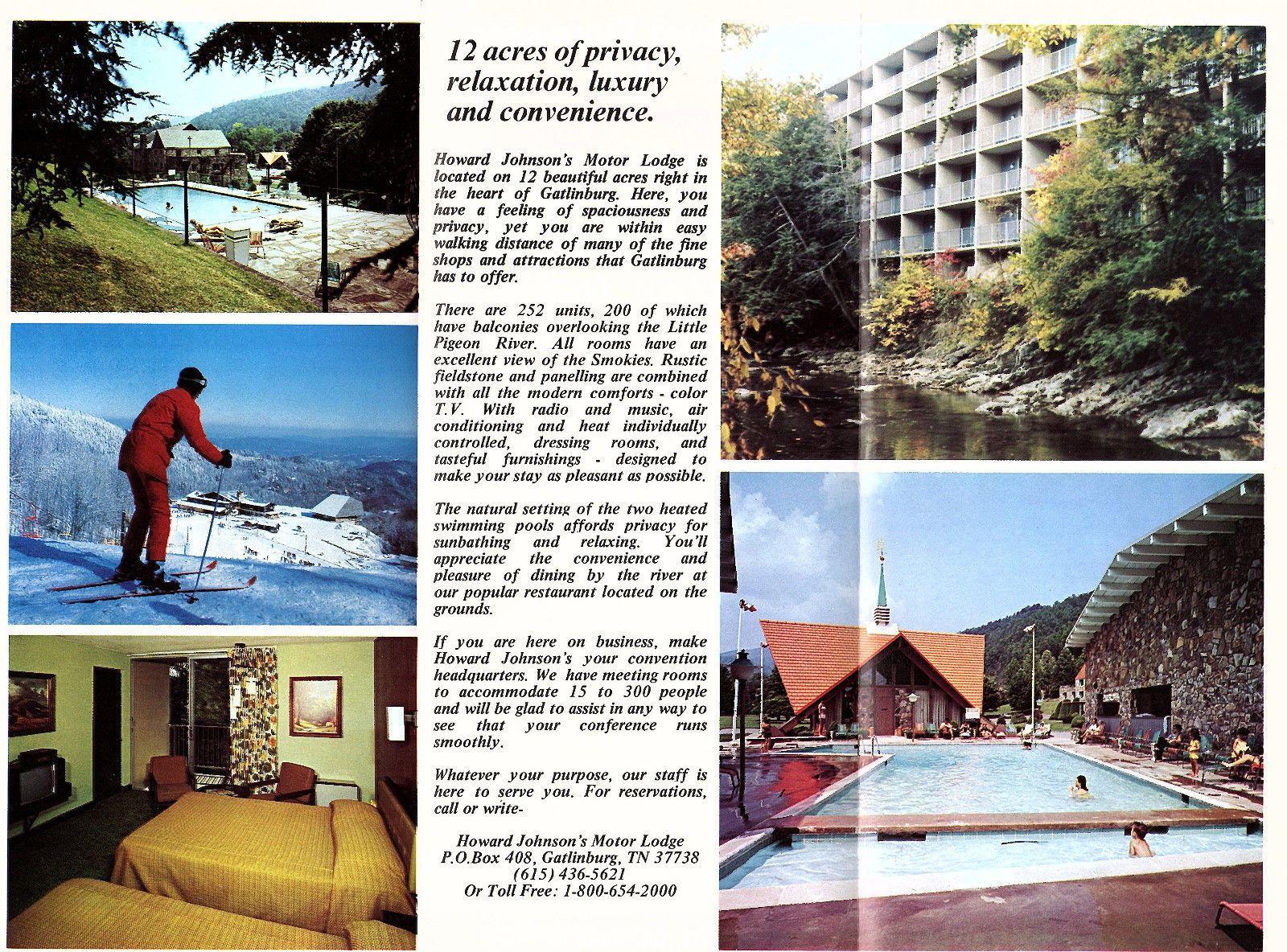 Howard Johnsons Howard Johnson S Gatlinburg Hotel Motel