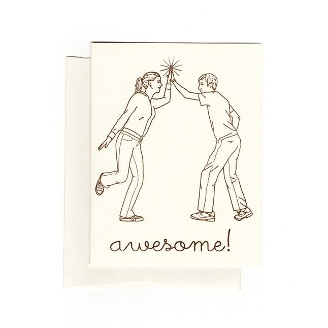 Awesome from Smarty Pants Paper Co | Square Market