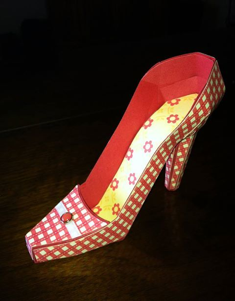 High heel shoe from SVG Cuts Love Always SVG Kit. #svgcuts
