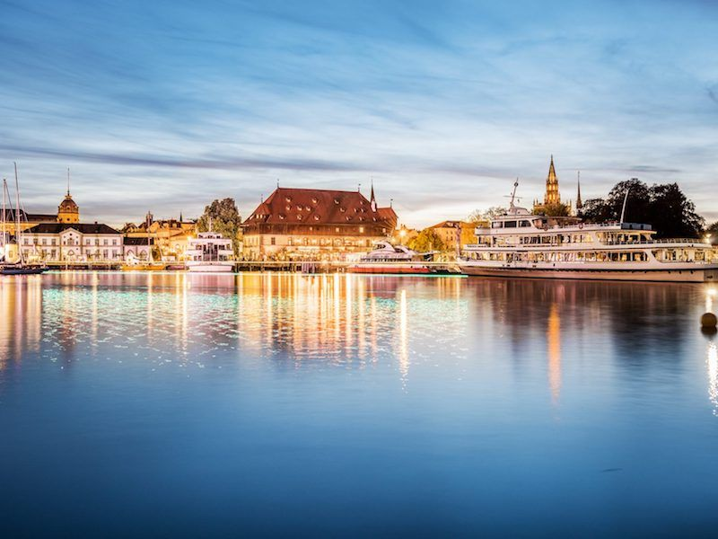 Lake Constance - Snippet Of Austria, Germany And