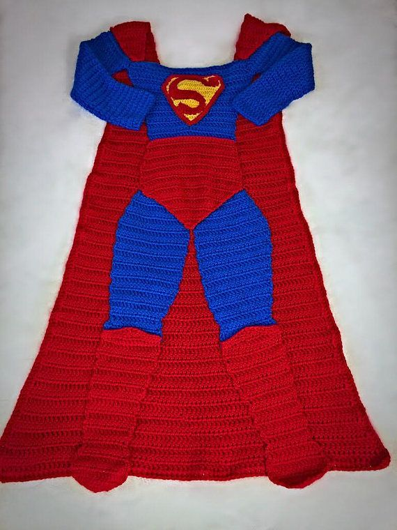 Pattern Only***** Not Physical Item***** Batman AND Superman Crochet ...
