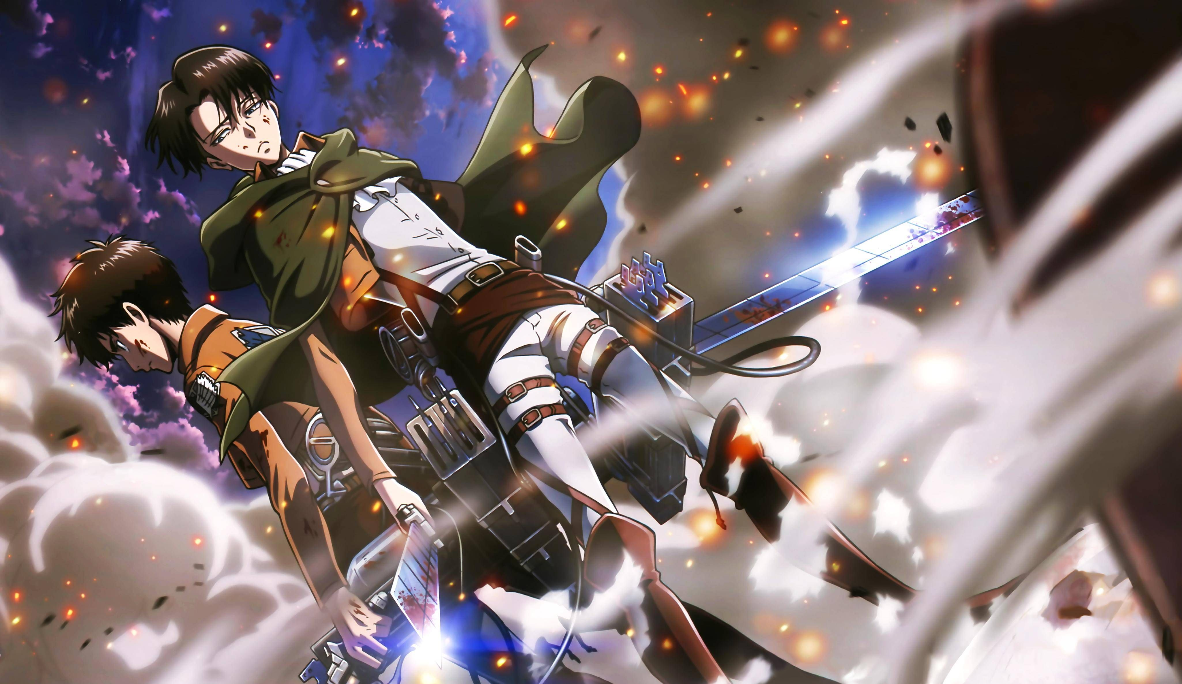 View Download Comment And Rate This 4100x2373 Eren Yeager And