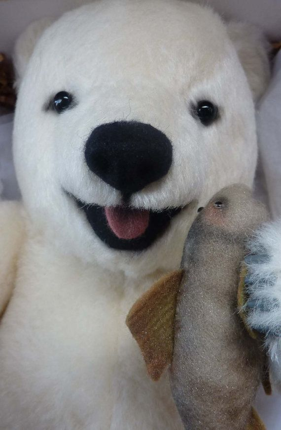 This is one of the most adorable little polar bear soft toys that you can find. It is just gorgeous and made to the very highest of standards,
