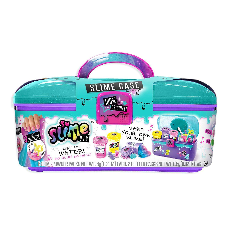 Amazon Com So Slime Case Shaker Storage Set Toys Amp Games
