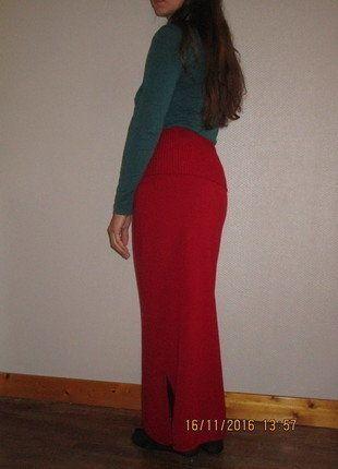 À vendre sur #vintedfrance ! http://www.vinted.fr/mode-femmes/jupes-longues/26162800-jupe-longue-3-robe-bandeau-merino-multifonction