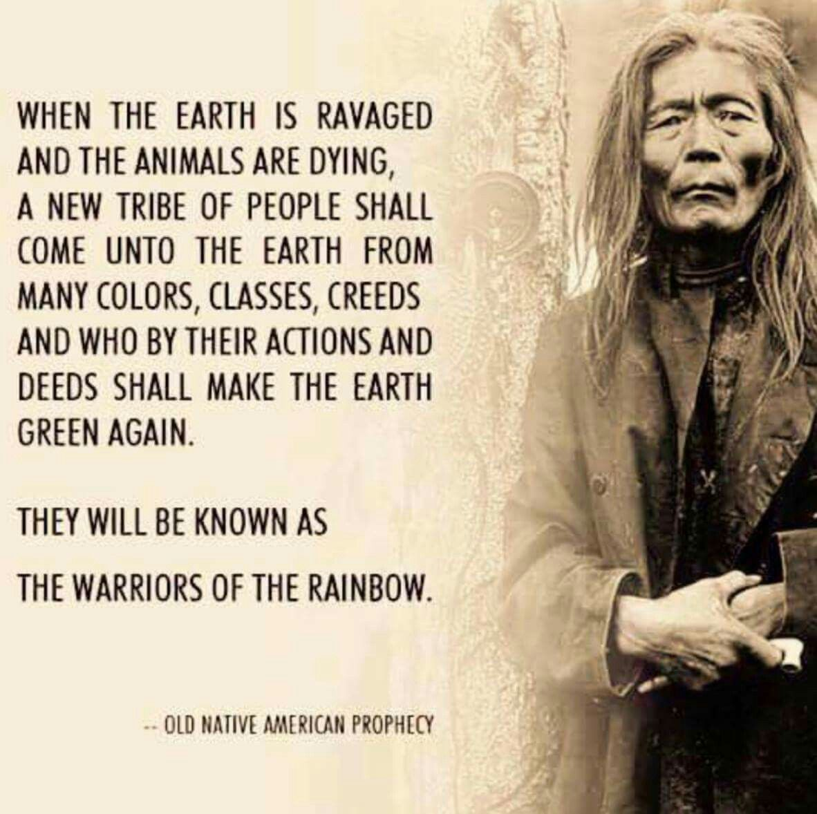 Old Native American Prophecy