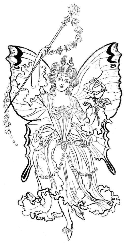 frilly fairy