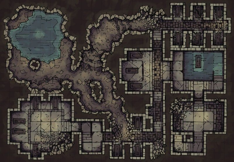 photograph regarding Cragmaw Hideout Printable Map titled Dnd Print Maps