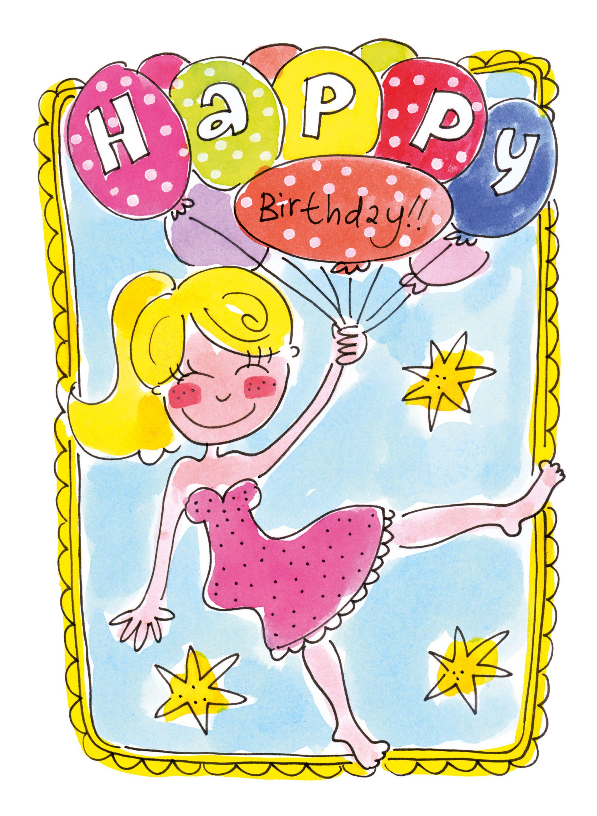 Happy Birthday kaart van Blond Amsterdam  gefeliciteerd ...