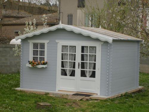 Afficher l\'image d\'origine   cabane de jardin   Pinterest   Cabane ...