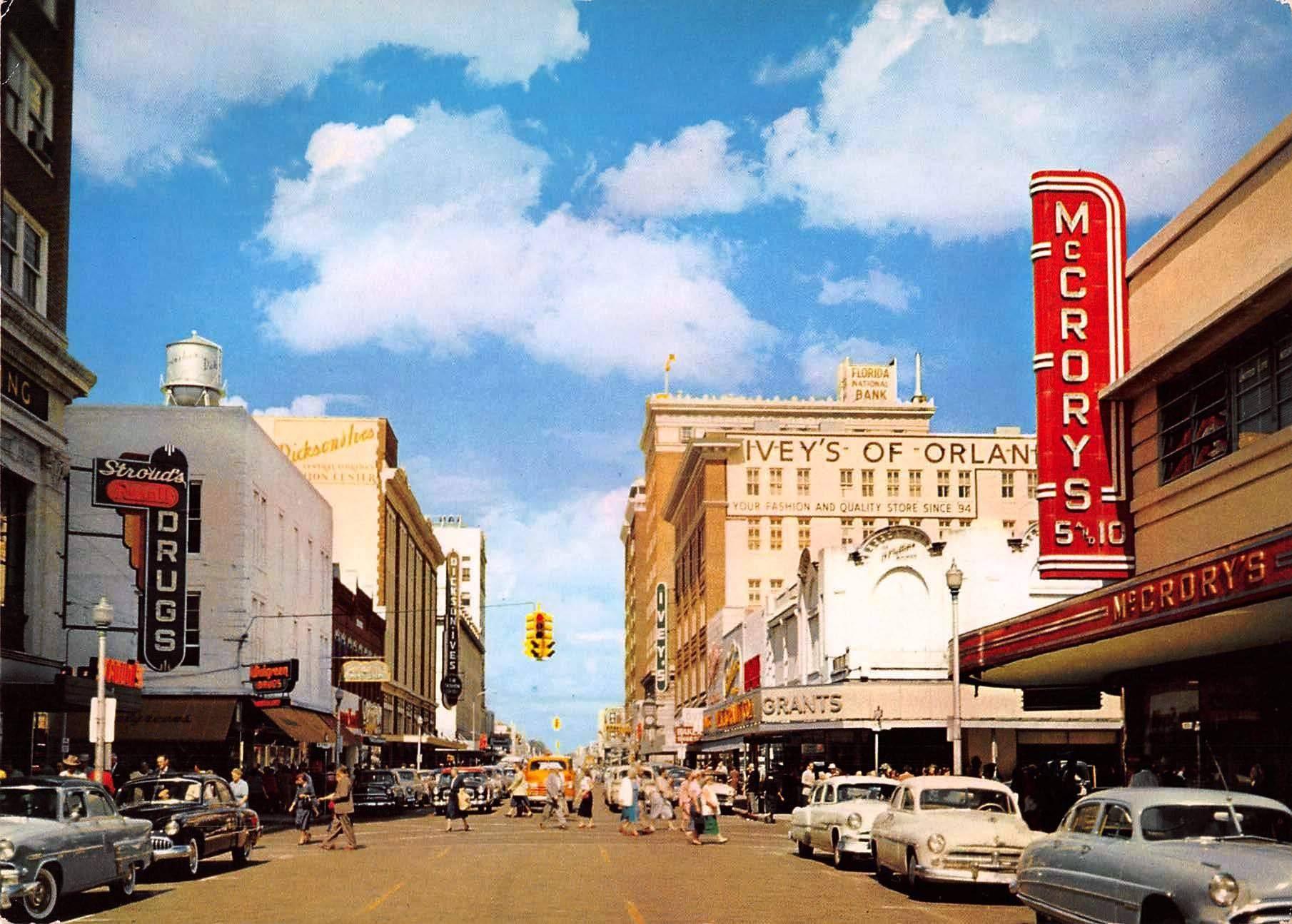 Orange Avenue in the 1950's! HistoricPhotos