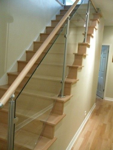 Best Contemporary Staircase Wood Stairs And Stainless Steel 400 x 300