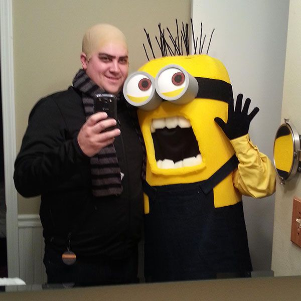 Despicable Me Couple Costume Steal the moon on Halloween with your boyfriend dressed as  sc 1 st  Pinterest & 55 Halloween Costume Ideas for Couples | Wednesday adams costume ...
