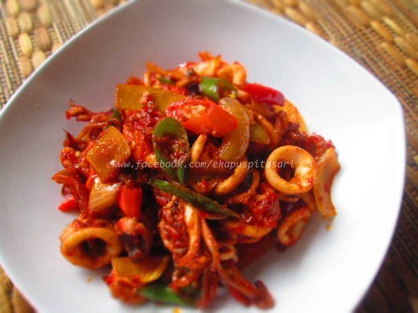 Resep Cumi Bumbu Pedas Oleh Eka Puspitasari Resep Resep Masakan Indonesia Resep Makanan Memasak