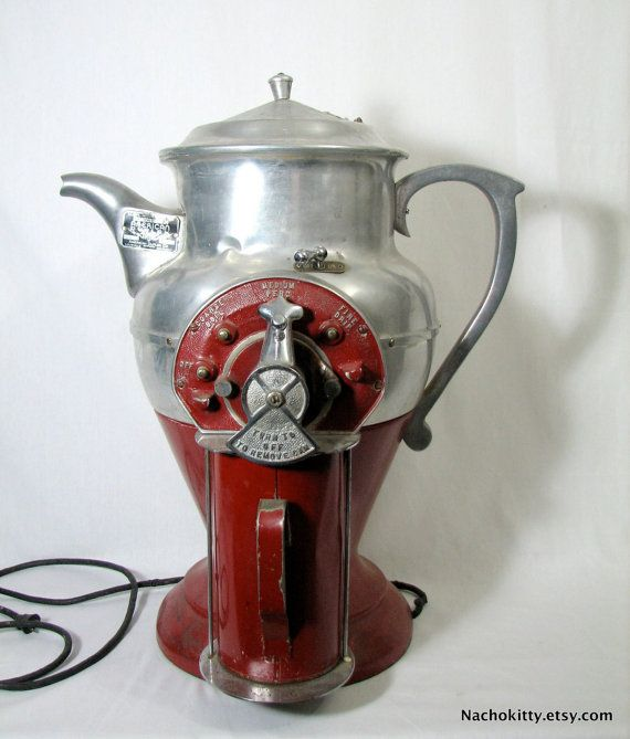 Coffee Grinder Of 1920 ~ Huge s coffee grinder brewer fully functional by