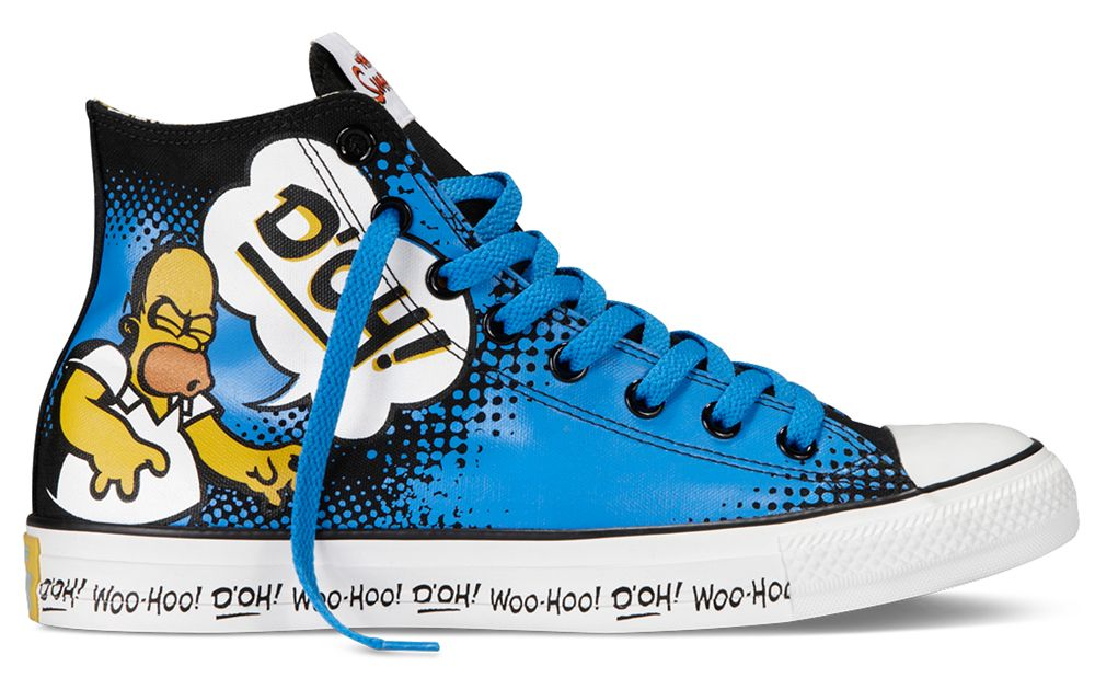 044eb042d9a6 The Simpsons x Converse Chuck Taylor All Star