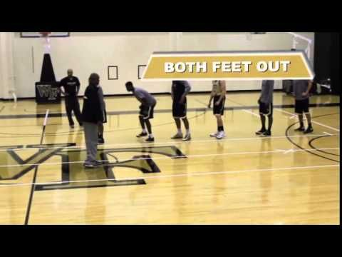 Use Danny Manning's Defensive Slides for Quicker Feet! - Basketball 2015 #51 - YouTube