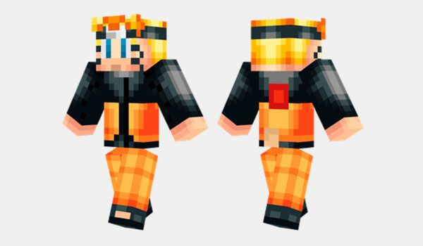 Naruto Skin Para Minecraft MineCrafteo Naruto Pinterest - Skins para minecraft pe de naruto