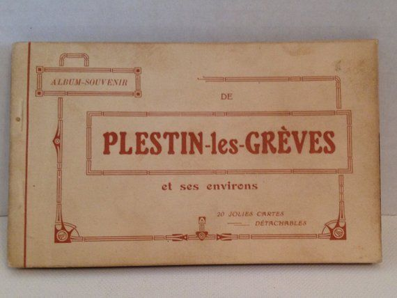 Vintage French Postcards 21 Plestin les Greves France