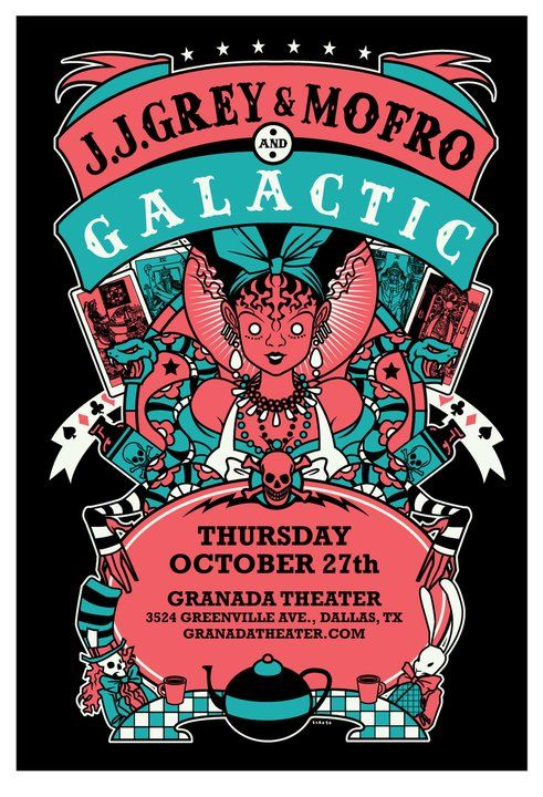 JJ Grey & Mofro | Galactic - 10/27/11 (by Scrojo)