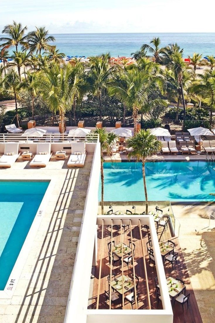 Hottest New Beach Hotels James Royal Palm Miami Florida