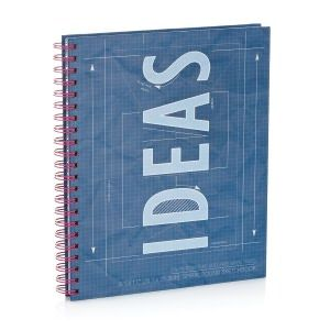 Ideas blueprint wiro sketchbook 85 x 11 products i love ideas blueprint wiro sketchbook 85 x 11 malvernweather Choice Image