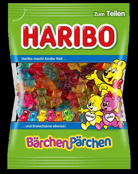 German Haribo Baerchenpaerchen Bear Couple Gummy Candy Share Size In 2021 Haribo Gummy Sweets Gummy Candy
