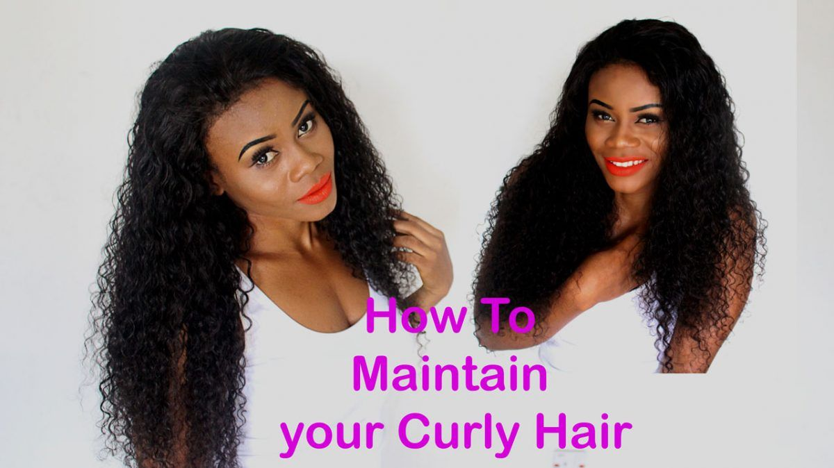 How to Revive & Maintain Curly Hair Weave in 2 Steps ...