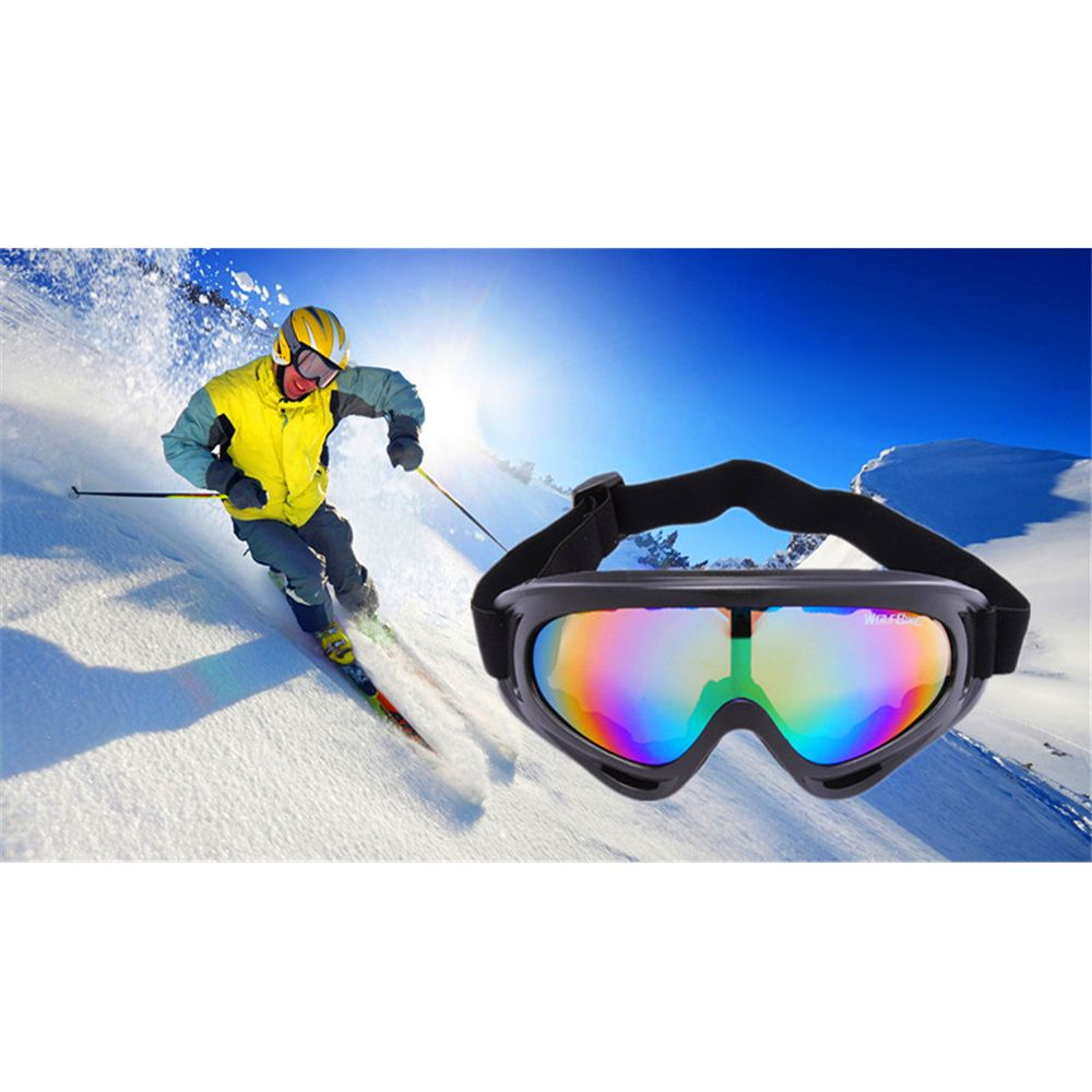 Wolfbike UV400 #Sunglasses Safety Eyewear Goggle for Skating Skiing Bicycle Riding Open-air Activities #ColorfulLens