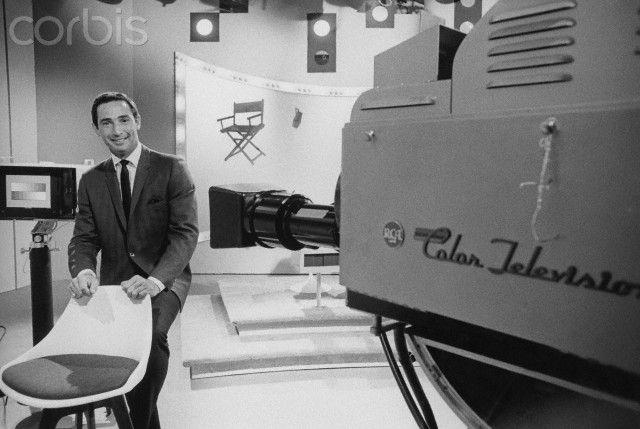 Sandy Koufax on Sandy Koufax Show Set