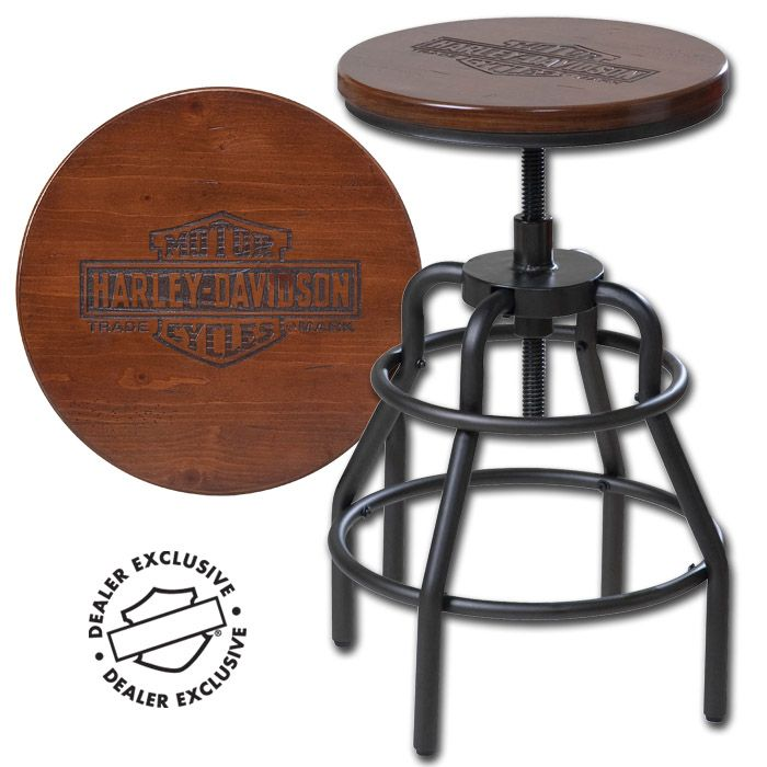 Tremendous Hdl 12125 Harley Davidson Nostalgic Bar Shield Wood Caraccident5 Cool Chair Designs And Ideas Caraccident5Info