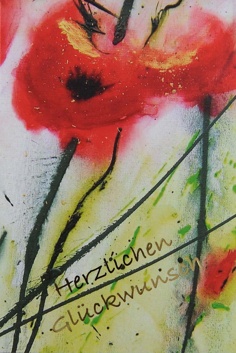 Pin Auf Gluckwunschkarten Mit Blumen