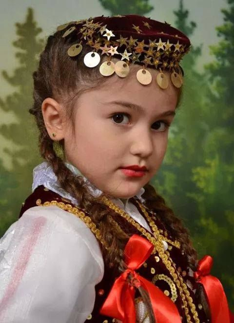 Albanian children in traditional costume. | Albanian ...