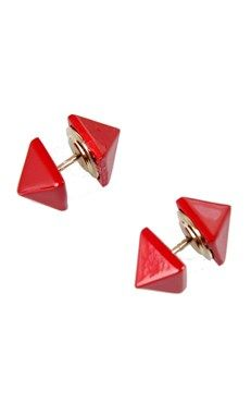 Rock Stud Earring by Rock @Luvocracy | Valentino