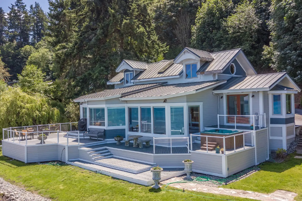 Featured On Hgtvs Beach Hunters The Bultman Houses For Rent In Oak Harbor Oak Harbor Renting A House House Rental
