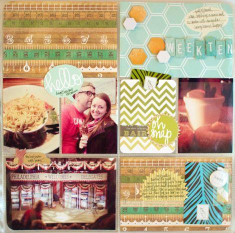 i love the week ten card // Kelly Purkey
