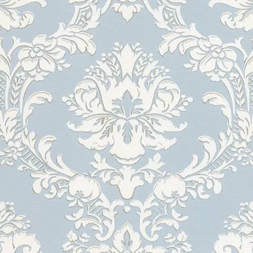 In Love With This Color The Gray And Blue Are Gorgeous WALLPAPER SAMPLE Victorian