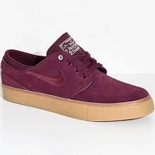 d78370f32d28 Nike SB Janoski Night Maroon   Gum Suede Skate Shoes - Female - 8 - Shoes - Skate  Shoes at Zumiez