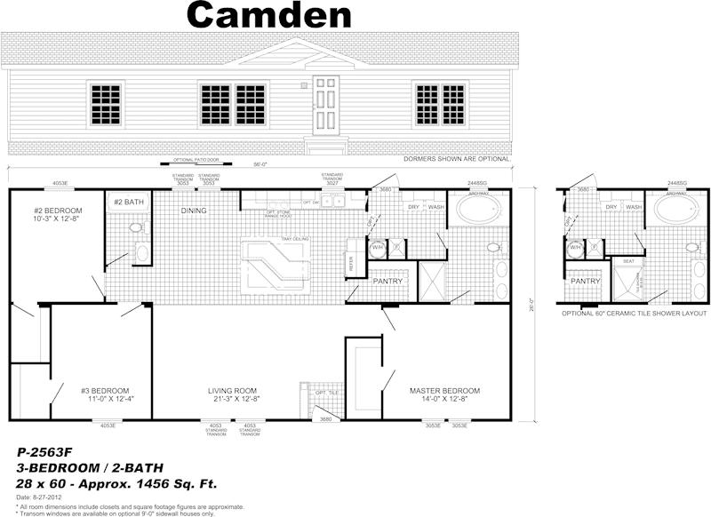 Wayne Frier Home Center Of Pensacola Pensacola Fl Camden Mobile Home Floor Plans House Floor Plans Floor Plans
