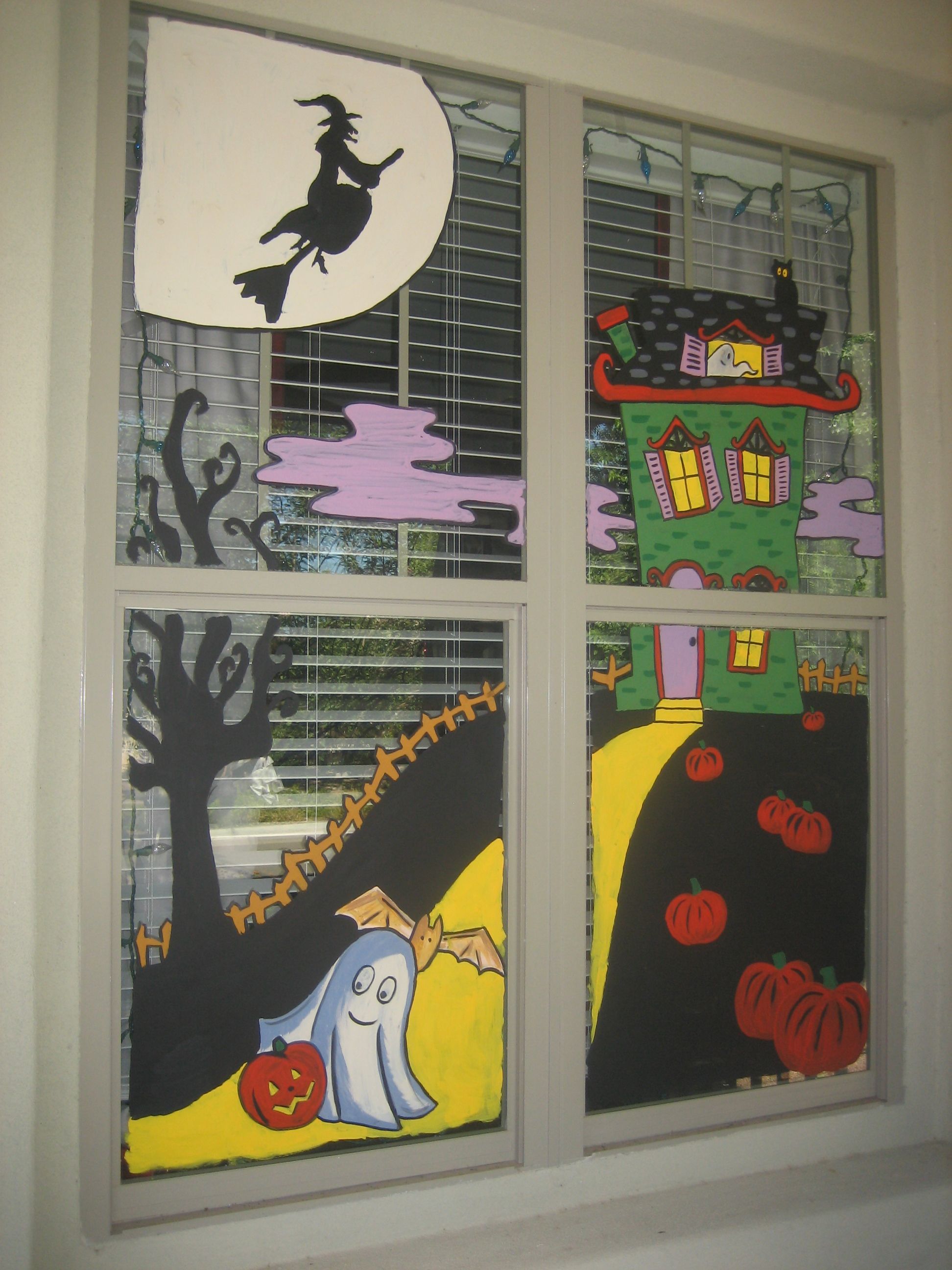 window painting | halloween bash in 2018 | Pinterest ...