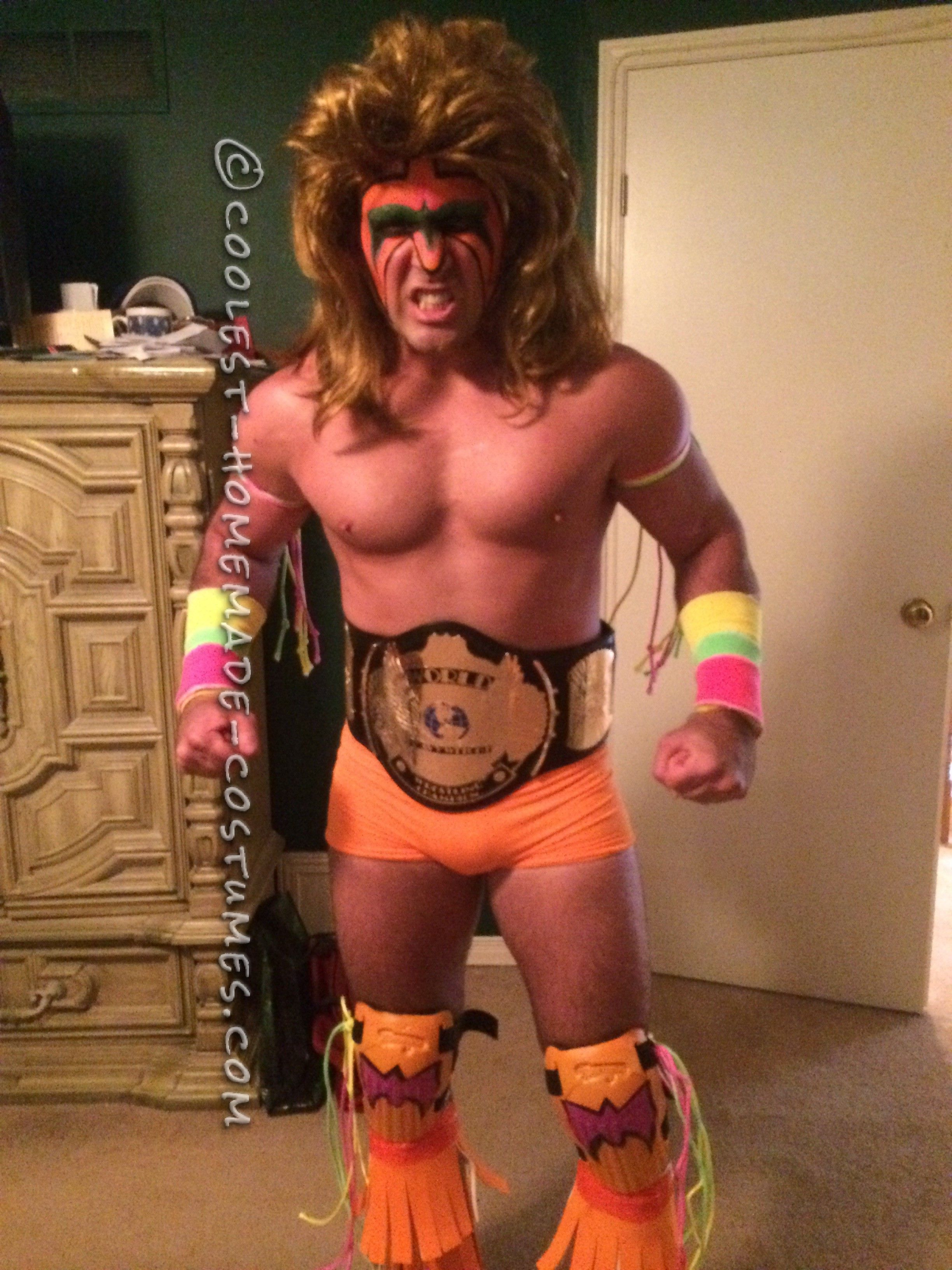 the best ultimate warrior costume ever | coolest homemade costumes