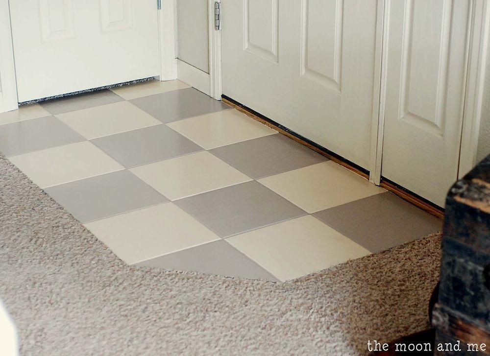 Painting A Ceramic Tile Floor Pinterest Ceramic Tile Floors