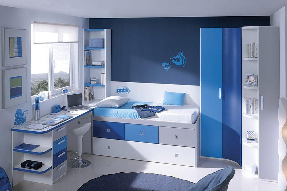 Camas Compactas dormitorios juveniles habitaciones juveniles