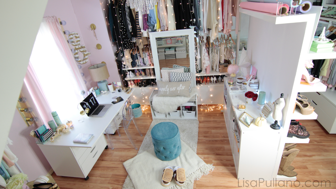Dose Of Lisa Pullano Closet Craft Vanity Office Studio Tour