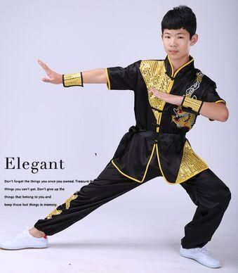 dcdffa7b4 wushu uniforms festival costume for children wushu clothing wu shu uniform  warrior costume new year dance costumes