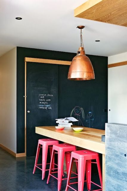 HAPPY 2014! Draw on the wall … New year, 20 Ideas for a new deco project for your home: BLACKBOARD PAINT – Babyecochic.com