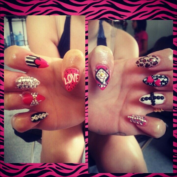 Inspired by talia joys nails | My Work (Nails) | Pinterest | Work ...