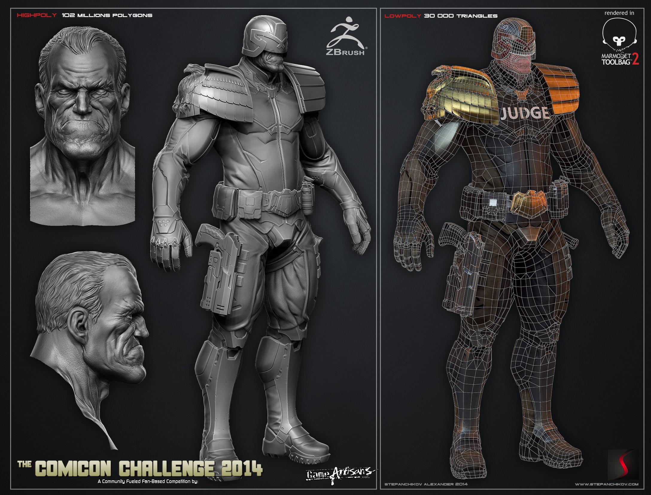 Comicon 2014 | 3D | Stepanchikov | Judge Dredd | Stand - Page 5