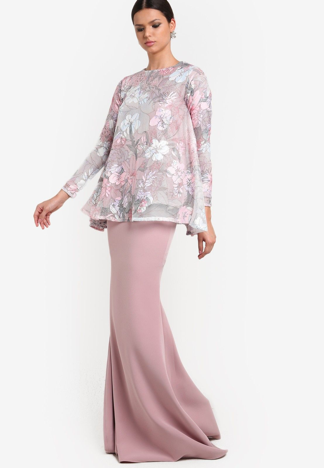 Wanpa Teratai Kurung Kebaya Baju Kurung In 2019 Fashion